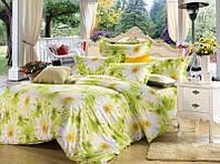 """Комплект постельного белья из сатина печатного ТМ """"Bella Donna"""" Майский полдень. Евро."""