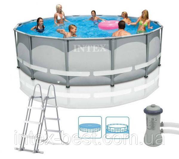 Покупаем каркасный бассейн для дачи