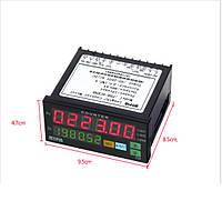 Электронный счетчик импульсов MYPIN 220В с релейным выходом