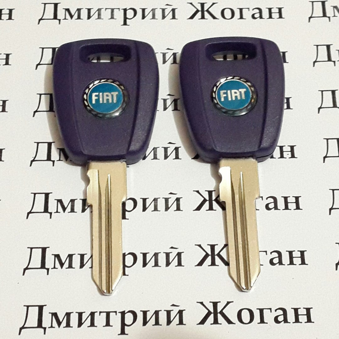 Ключ для Fiat (Фиат) c чипом ID46