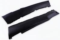Пластик Yamaha JOG NEXT ZONE 3YK нижний (лыжи) (черный)