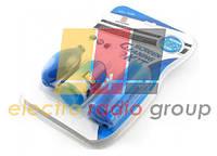 Набор чистящий GCL-1026 4 в 1, жидкость 60 мл, нейлоновая щетка, резиновая груша, микрофибра, блисте