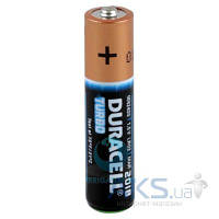 Элемент питания Duracell Turbo AAA (LR03) 1шт