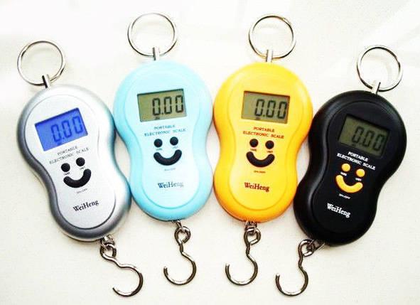 Весы, Электронный кантер, ручные весы, весы на 40 кг, V40, можно измерить температуру, точность 10 г, фото 2