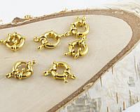 Застежка круглая золото (26мм) (товар при заказе от 500грн)