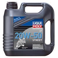 Моторное масло минеральное MOTORBIKE 4T 20W-50 STREET(RACING 4T 20W-50) 4Л