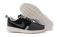 Мужские кроссовки Nike Roshe Run NM черно-серого цвета