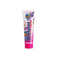 Dentalux детская зубная паста для детей от 0 до 6 клубника, 100 мл