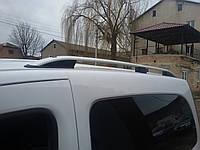Renault Kangoo Рейлинги Skyport серый мат