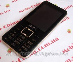 Телефон Servo V8100 -  4 sim black + чехол, фото 3