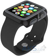 Speck CandyShell Fit Case for Apple Watch 38mm Black/Grey (SPK-A4134)