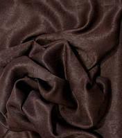 Шторная Ткань Софт-велюр Темный Шоколад