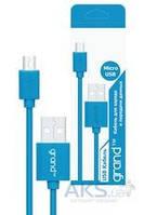 Кабель USB Grand micro USB blue