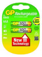 Аккумулятор бытовой GP 65ААAHC-U2 Ni-MH R03 (ААA, 1,2V, 650mAh)