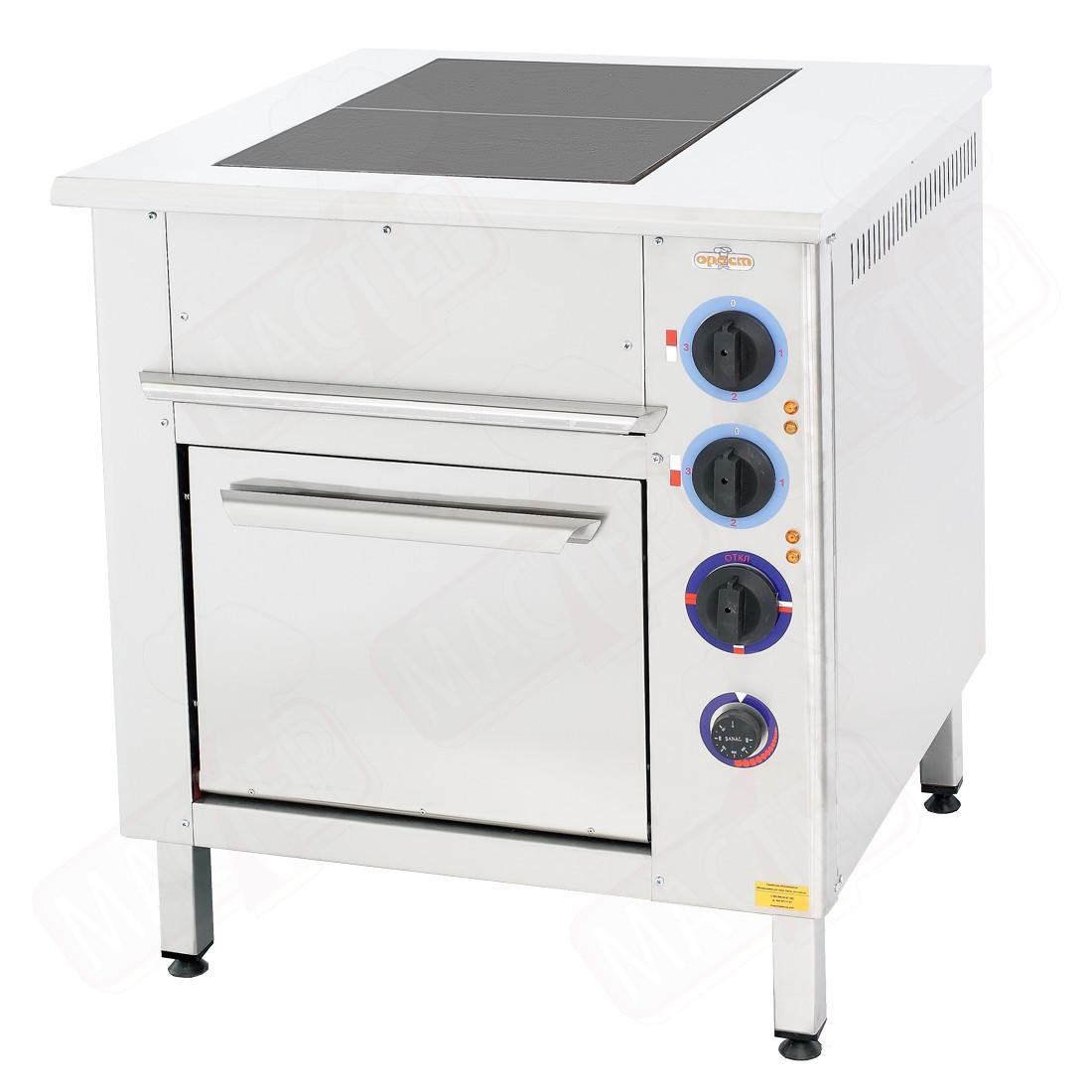 Профессиональная плита промышленная  Orest ПЭ-2-Ш (под GN 1/1)