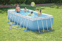 Каркасный бассейн INTEX 28318 Prism Frame Pool (488Х244Х107)