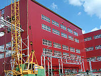 Монтаж и установка сэндвич-панелей на складах, маслоэкстракционных заводах