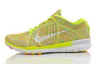 Кроссовки женские Nike Free TR Fit Flyknit Yellow