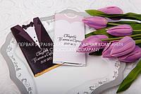 Шоколадные сувениры гостям на свадьбе