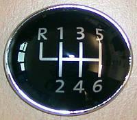 Накладка на ручку КПП VW T5 6-ти ступенчатая 7H5711144D