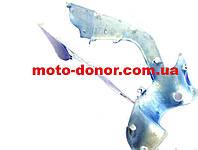 Пластик для Viper Active - передний средний (где замок зажиг.) СИНИЙ