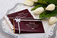 Подарки на свадьбу из шоколада