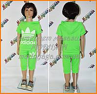 Детский летний костюм для мальчика и для девочки