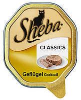 Паштет с домашней птицей для кошек - Sheba Classics, 85 гр