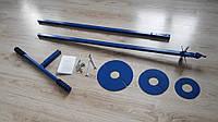 Универсальный ручной бур с диаметрами ножей 125, 150, 200 и 250 мм