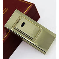 Электроимпульсовая USB зажигалка Tiger (легкое золото)