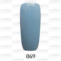 Гель-лак Adore Professional № 069 (бледно-васильковый), 9 мл ADR 069/96