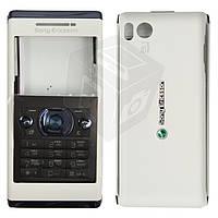 Корпус для Sony Ericsson U10 Aino с клавиатурой - оригинал (белый)