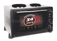 Электродуховка с плитой MPM MPE-04T