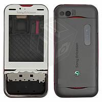 Корпус для Sony Ericsson U100 - оригинал (белый)