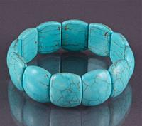 Браслет  Бяньши из лечебного голубого нефрита Шаньдун Китай