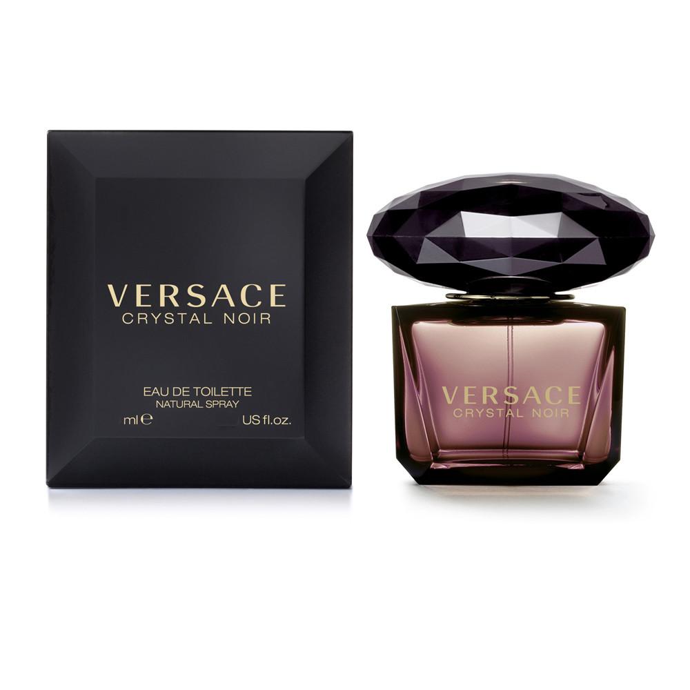 Versace Crystal Noir туалетная вода 90 ml. (Версаче Кристалл Ноир) - Интернет-магазин Versale (Версаль) - только брендовая элитная женская и мужская парфюмерия в Киеве