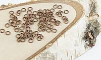 Колечки медь (5мм) (10грамм) (товар при заказе от 500грн)
