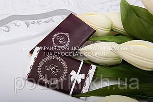 Компліменти гостям на весіллі з шоколаду