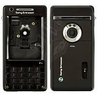 Корпус для Sony Ericsson P1, черный, оригинал