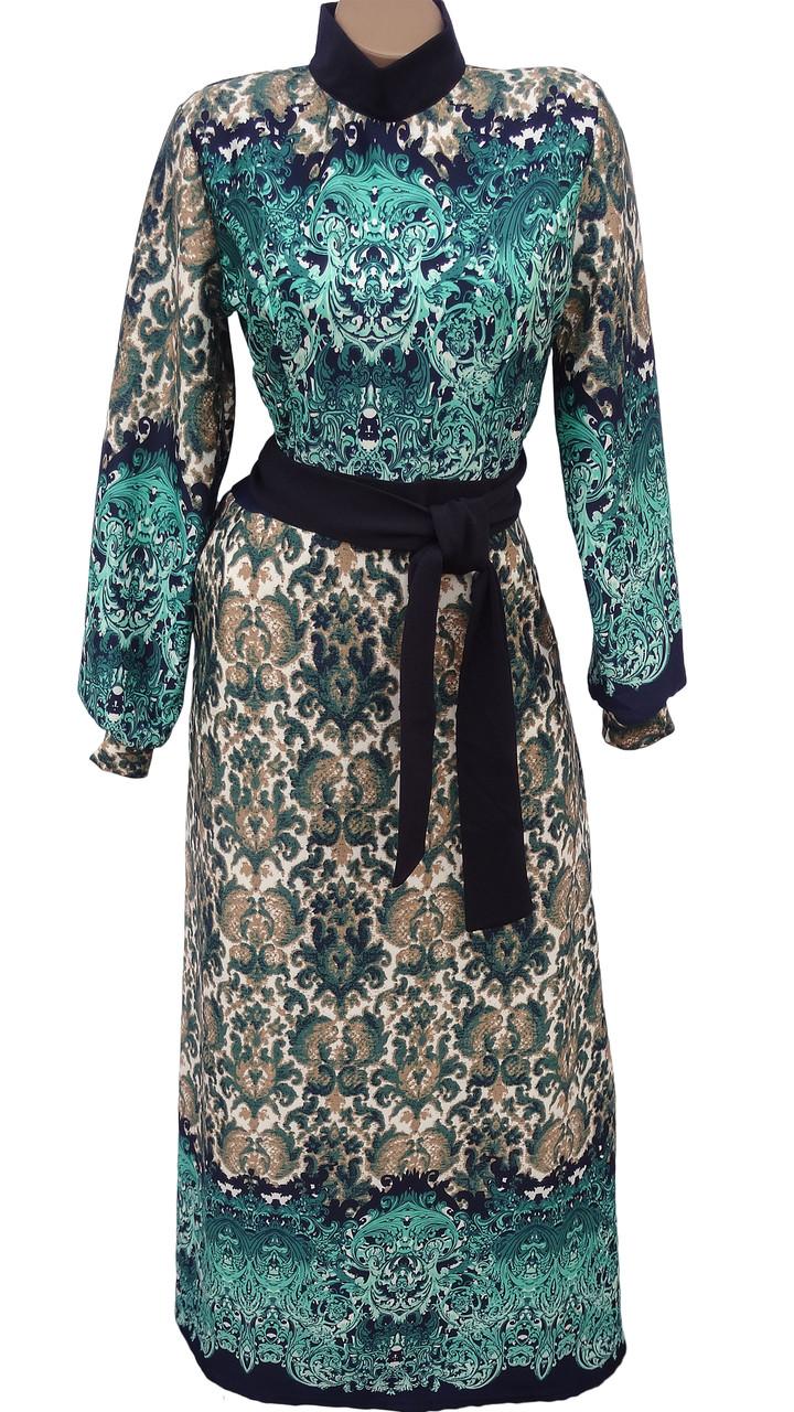 Красивое женское платье-макси
