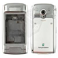 Корпус для Sony Ericsson P910 - оригинал (серебристый)
