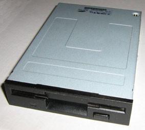 Флоппі-дисковод (Floppy Disk Drive, FDD) чорний бу