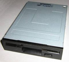 Флоппи-дисковод (Floppy Disk Drive, FDD) черный бу