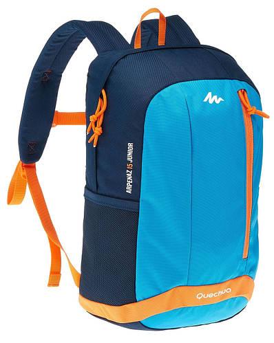 Подростковый качественный городской рюкзак 15 л. Quechua ARPENAZ 2033560 синий