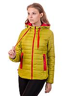 Молодежная женская демисезонная куртка в 5-ти цветах 01.146