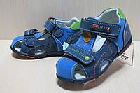 Детские кожаные босоножки для мальчика тм Tom.m, детская летняя обувь р.21,26
