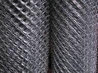 Сетка рабица оцинкованная 1,6*35*35,высота 1,2м
