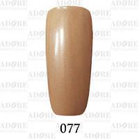 Гель-лак Adore Professional № 077 (песочный с микроблеском), 9 мл ADR 077/96