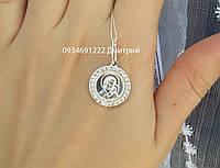 Серебряная ладанка Богородица