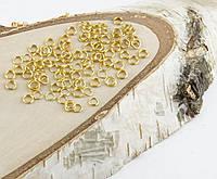 Колечки золото (5мм) (10грамм) (товар при заказе от 200 грн)